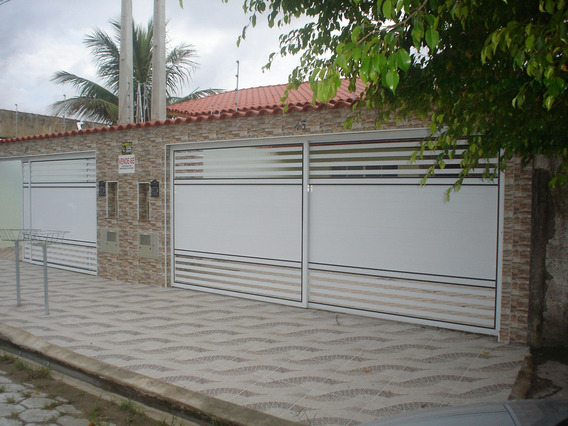 Casa Nova 2 Dorm, 1 Suit, Área Goumet, Lado Praia.