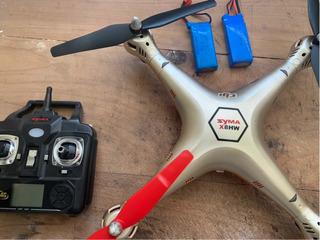 Drone Syma X8 Armado 2 Baterías Lipo Funcionando