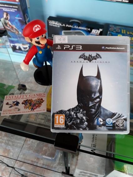 Batman Arkham Origins Para Playstation 3 (semi Novo)