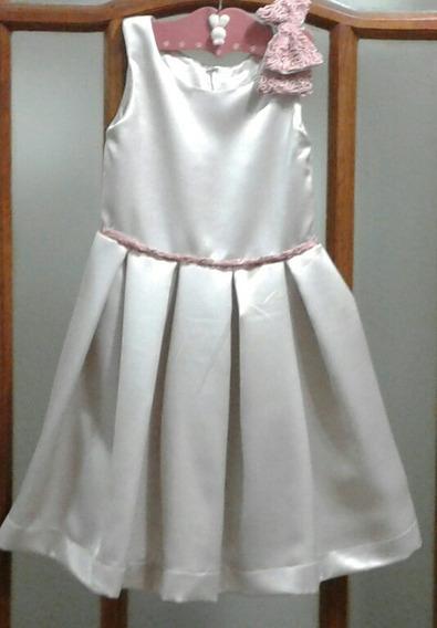 Vestido De Fiesta Nena 9/10 Años Sin Usar
