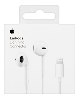 Fone Ouvido Apple Earpods Lightning iPhone 7 8 X Xs Max Orig