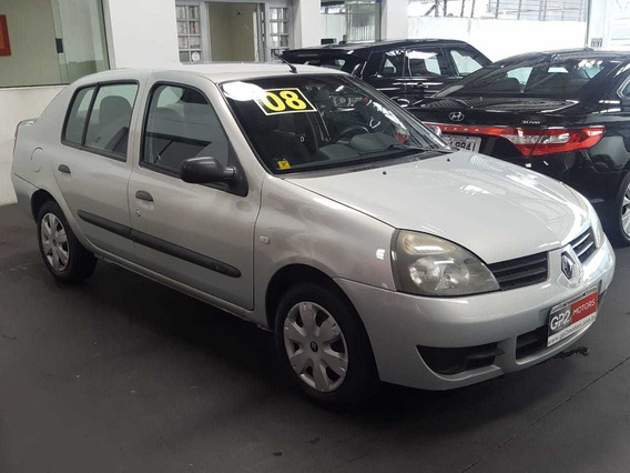 Renault Clio Sedan 1.6 16v Authentique Hi-flex 4p 2008