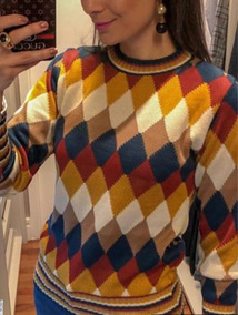 Suéter Escocês Blusa Escocesa Sueter De Tricot