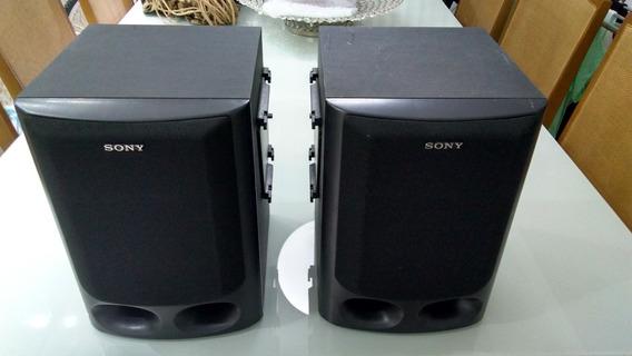 Caixas De Som Sony Ss-h10 Funcionando, Em Ótimo Estado