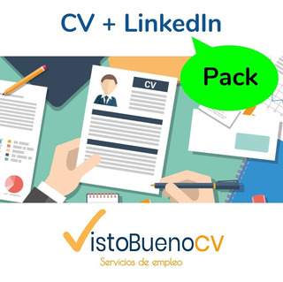 Pack Elaboración De Cv + Perfil Linkedin (incluye Perfil En Línea + Cv En Pdf Y Word + Carta De Presentación)