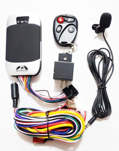 Imagen 1 de 8 de Gps Tracker Gps303g Satelital Con Sirena Para Carro O Moto