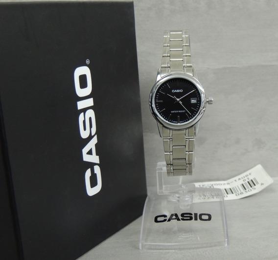 Relógio Casio Feminino - Ltp-v002d-1audf - Nf+ Garantia