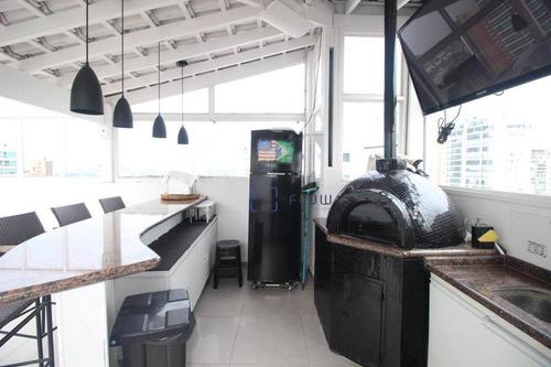 Cobertura Com 3 Dormitórios 1 Suíte, 264 M² - Venda Por R$ 3.150.000 Ou Aluguel Por R$ 18.500/mês - Campo Belo - Co0471