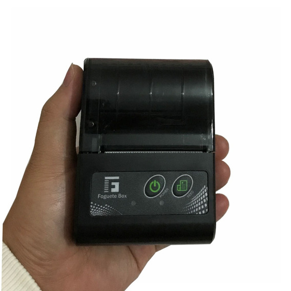 Mini Impressora Bluetooth Termica 58mm Aposta Pedido Cupom