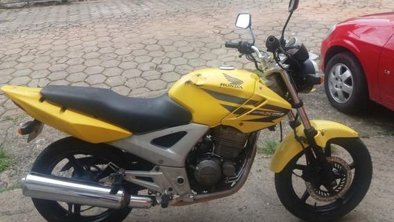 Honda Cbx 250 Twister Amarela 2007