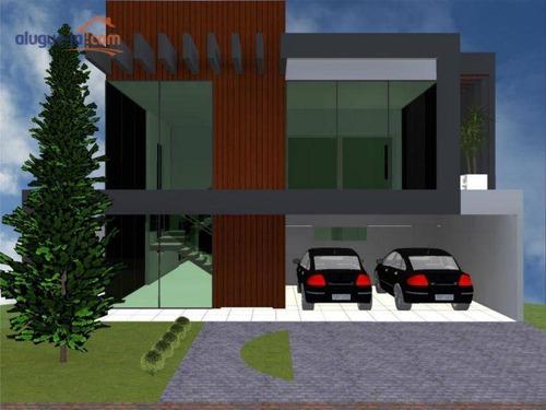 Imagem 1 de 4 de Casa Com 4 Dormitórios À Venda, 420 M² Por R$ 1.650.000,00 - Urbanova - São José Dos Campos/sp - Ca3962