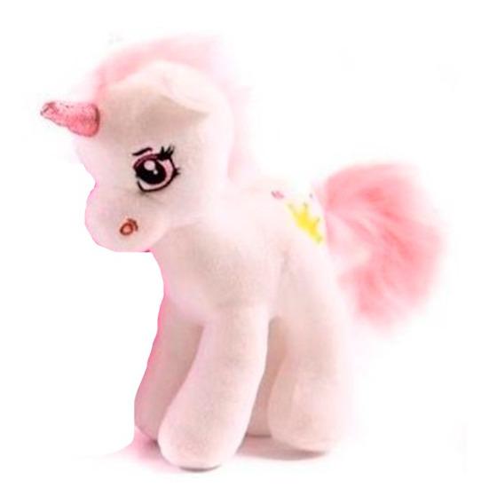 Peluche Unicornio Blanco 35 Cm