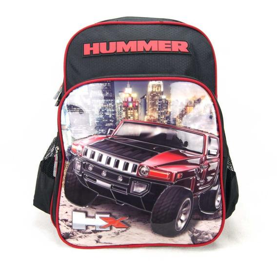 Mochila Infantil Hummer Vermelho Gm Luxcel La32443hm