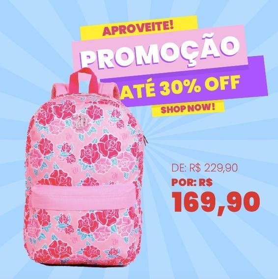 Mochila Capricho Liberty Pink - 11337