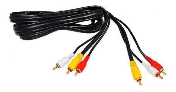Cabo Rca Audio E Video Macho Para Macho 1,5m Xt-5001