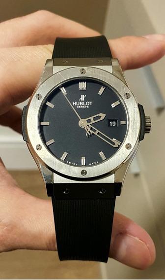 Relógio Hublot Classic Fusion 42mm Titânio Completo 2011