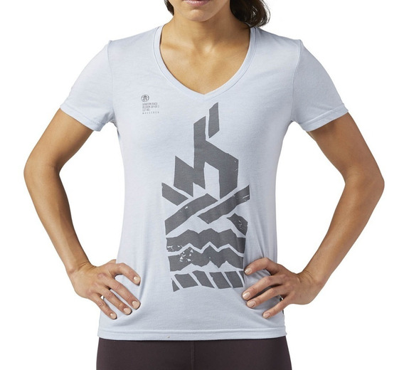 Playera Atletica Spartan Race Srw Ss Mujer Reebok Br2115
