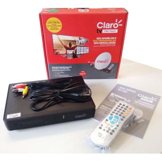 Receptor Claro Tv Pré Pago Visiontec = Pronta Entrega