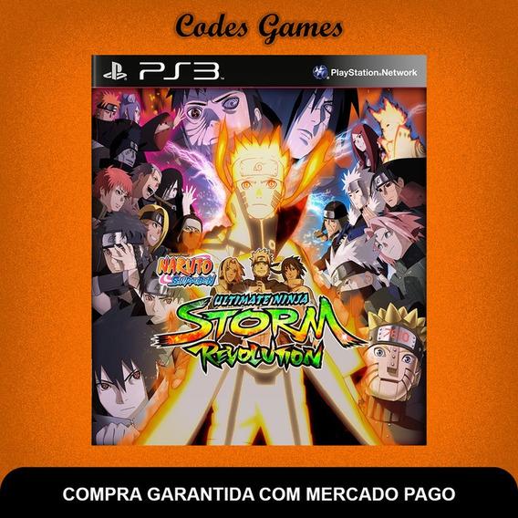 Naruto Shippuden Storm Revolution - Ps3 - Pronta Entrega