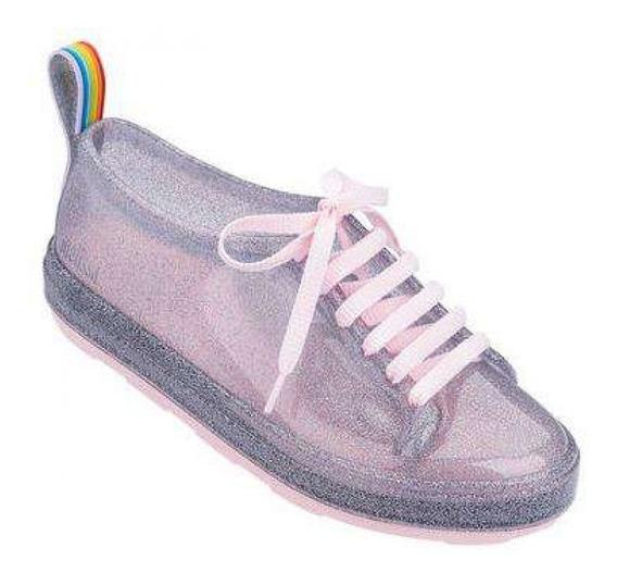 Melissa Be Rainbow Tam 37 Glitter Usada 2x Tenis