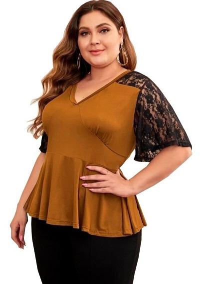 Blusas De Mujer Extra Grande En Mercado Libre Mexico