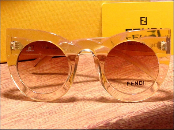Óculos De Sol New Fendi Lolly Receba Em Até 48 Horas °1738°