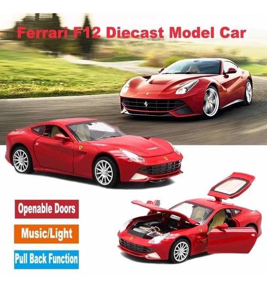 Miniatura Ferrari F12 Escala 1:32