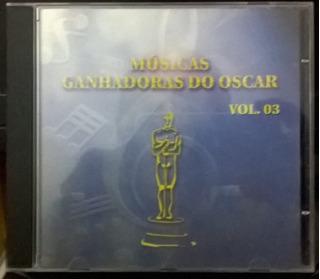 Cd Músicas Do Oscar - Cd Usado Perfeito!