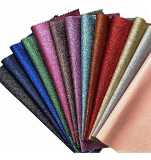 Vinil Textil Para Moños Alta Calidad 8 Hojas 30x20cm