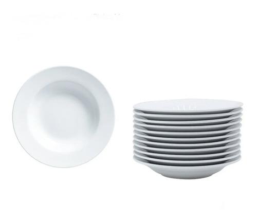 Imagen 1 de 3 de Plato Para Pasta 30 Cm 6 Piezas