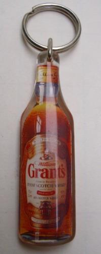 Llavero Publicidad De Whisky Grants- Nuevo,sin Uso
