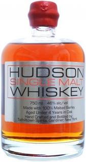 Whisky Hudson Single Malt Whiskey 46% Abv Origen Usa.