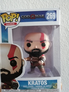 Kratos God Of War Funko Pop 9,5 Cm Exelente Calidad