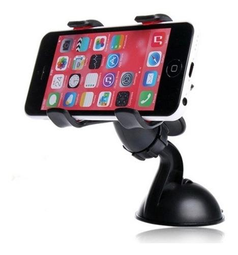 a3c21768e78 Soporte Porta Celular Auto Clip Con Ventosa iPhone Samsung - $ 1.990 en  Mercado Libre