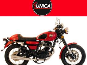 Moto Gilera Vc 200 Roja 1unica Motos