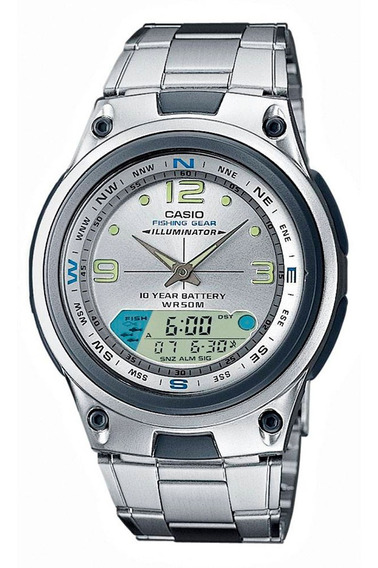 Relógio Casio - Aw-82d-7avdf - Fishing Gear