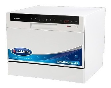 Lavavajillas James 8 Lts 6 Cubiertos Mod  Lvcm 6cd