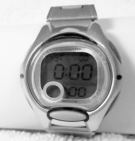 028 Rlg- Relógio- De Pulso Illuminator Wrsom Casio- Funciona