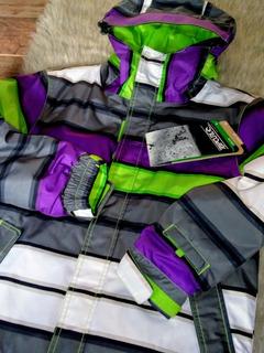 Campera Snowboard Rip Curl 10k Nieve Sky Abrigo