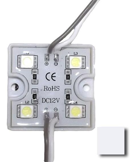 Modulo 4 Leds 5050 12v Exterior A/brillo V/colores X 10 Unid