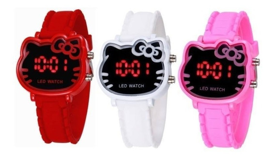 Reloj Digital Hello Kitty