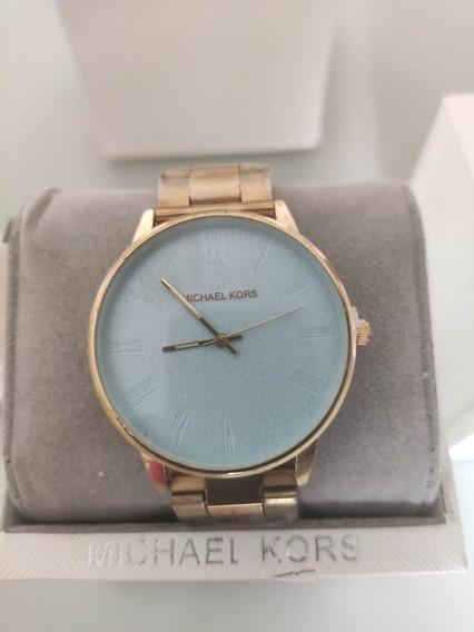 Relógio Michael Kors Original Feminino Azul
