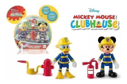 Mickey 181908 Personajes De Bomberos  2 Figur
