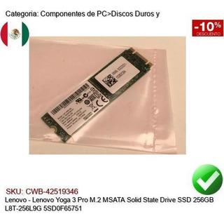 Lenovo Yoga 3 Pro M.2 Msata Ssd 256gb L8t-256l9g 5sd0f65751