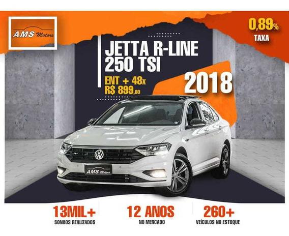 Volkswagen Jetta R-line 250 Tsi 1.4 Flex 16v Aut 2018