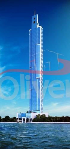 Imagem 1 de 1 de One Tower, Sala Comercial, 8 Vagas De Garagem, Barra Sul, Balneário Camboriú, Santa Catarina - Sa00092 - 33575484