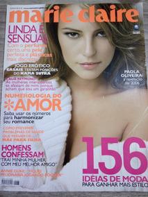 Marie Claire 183 Paola Oliveira - Cauã Reymond - Sônia Braga