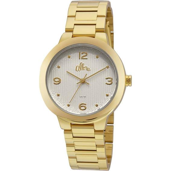 Relógio Feminino Allora Analógico Fashion Al2035fgk/4k