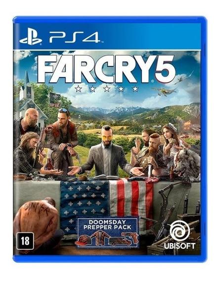 Far Cry 5 - Ps4 - Novo - Midia Fisica - Lacrado - Pt Br