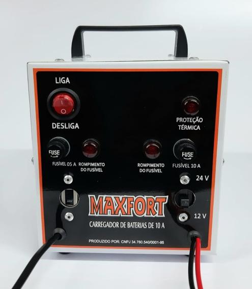 Carregador Bateria Carros Ate 90 Amperes 12v E 24v Portatil
